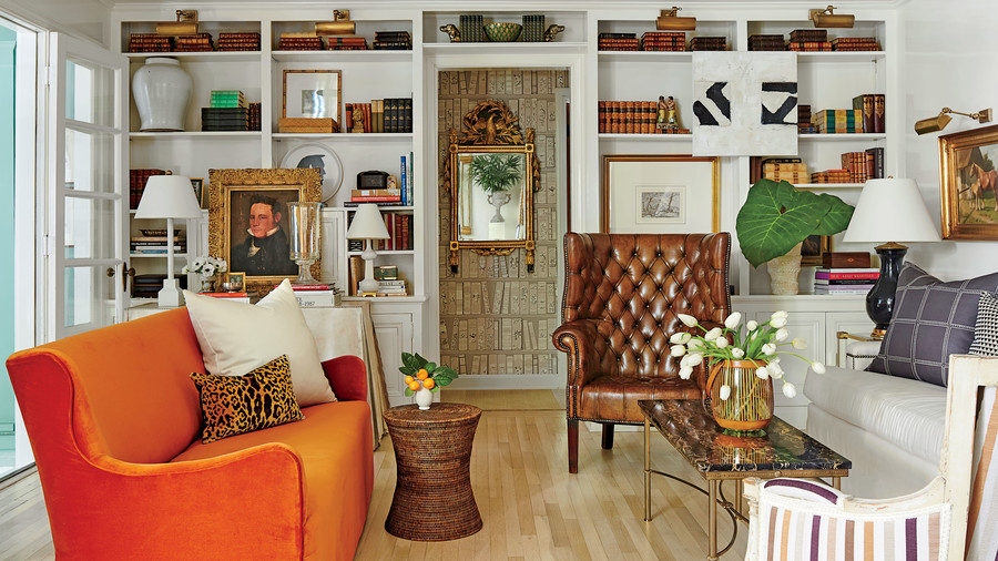 Shaun Smith New Orleans Ranch Living Room