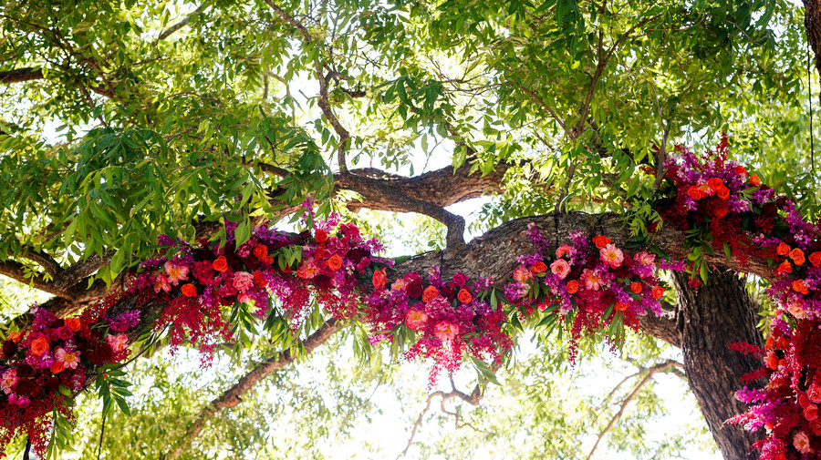 Wedding Ceremony Oak Tree Florals