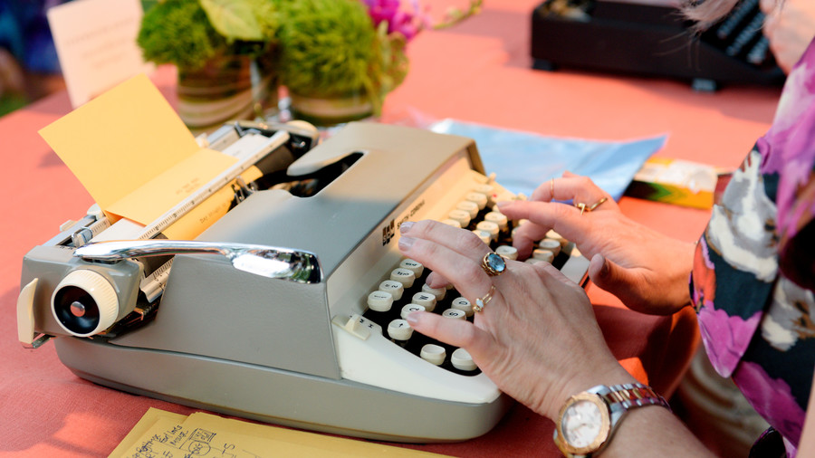 Personal Poems on Old-Fashioned Type Writers