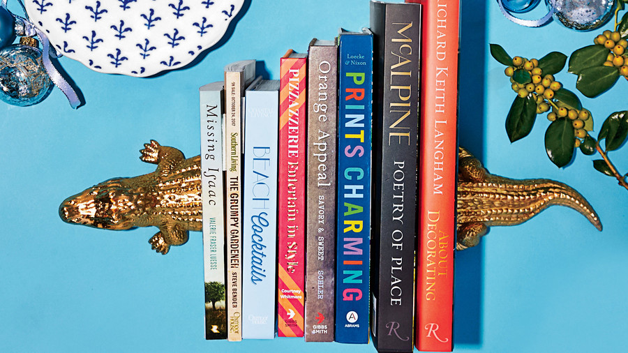Alligator Bookends and 8 Great Reads