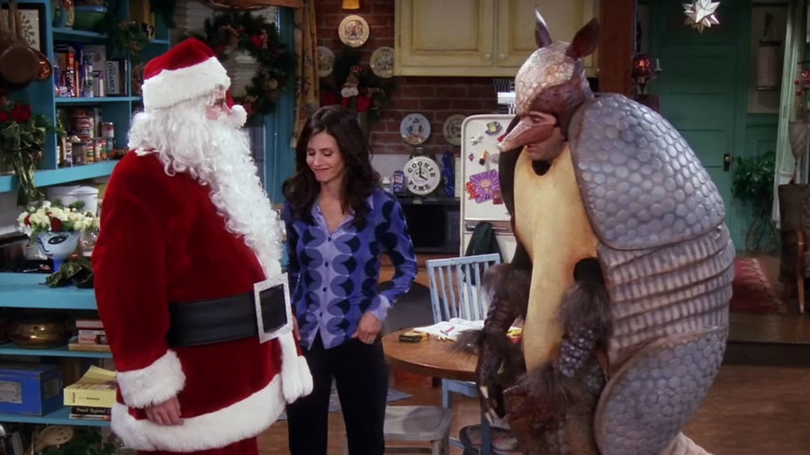 """Friends, """"The One With the Holiday Armadillo"""""""