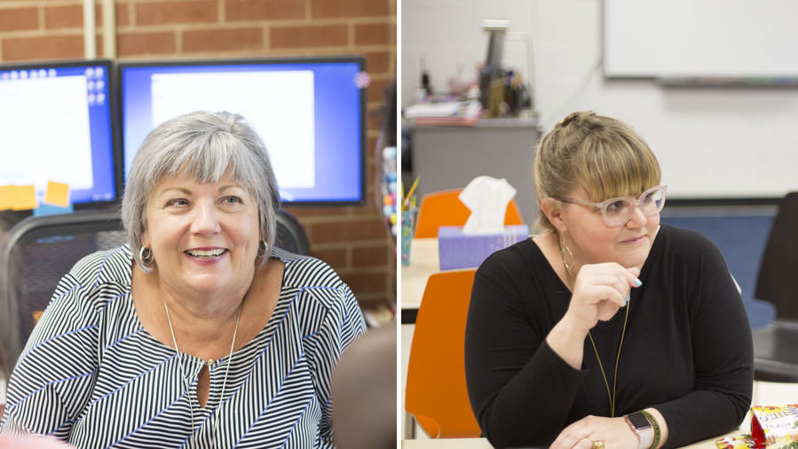Susan Agel and Amy Brewer for Southerners of the Year