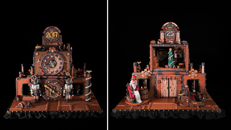 Christmas Time Gingerbread House Competition
