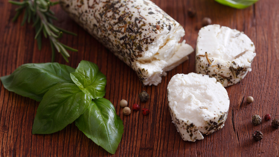 Herbed Goat Cheese Log