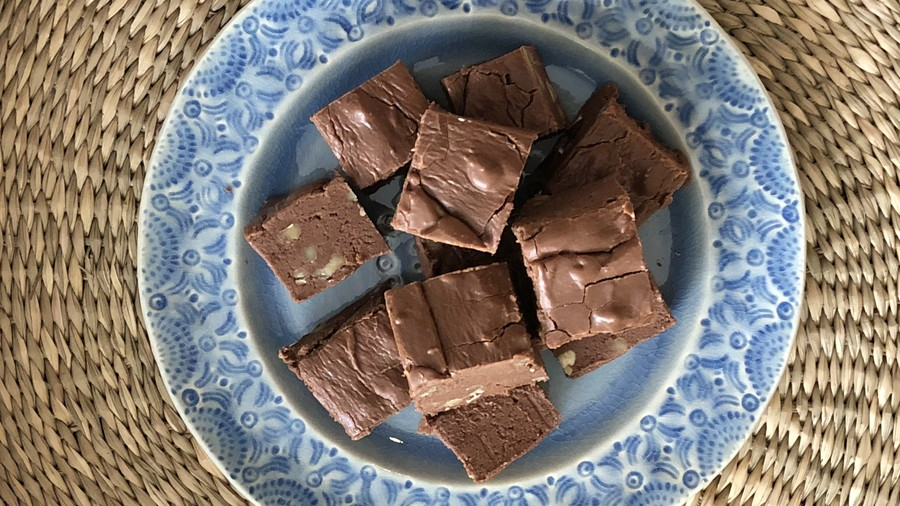 Mamie Eisenhower's Chocolate Fudge