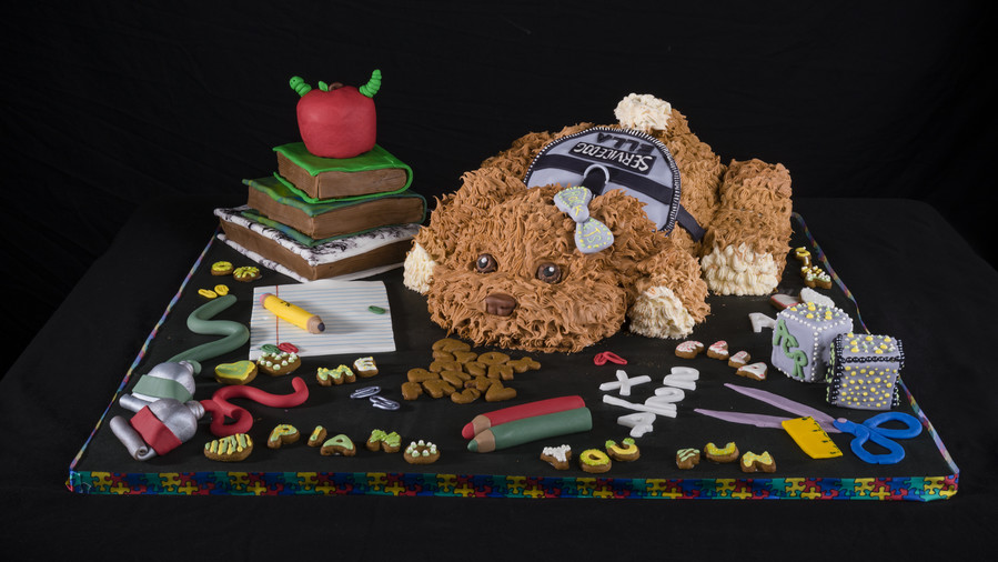 The Dog Daze of School Gingerbread House Competition
