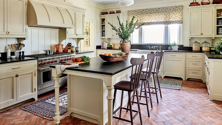 Phoebe Howard Designed Texas Hill House Kitchen