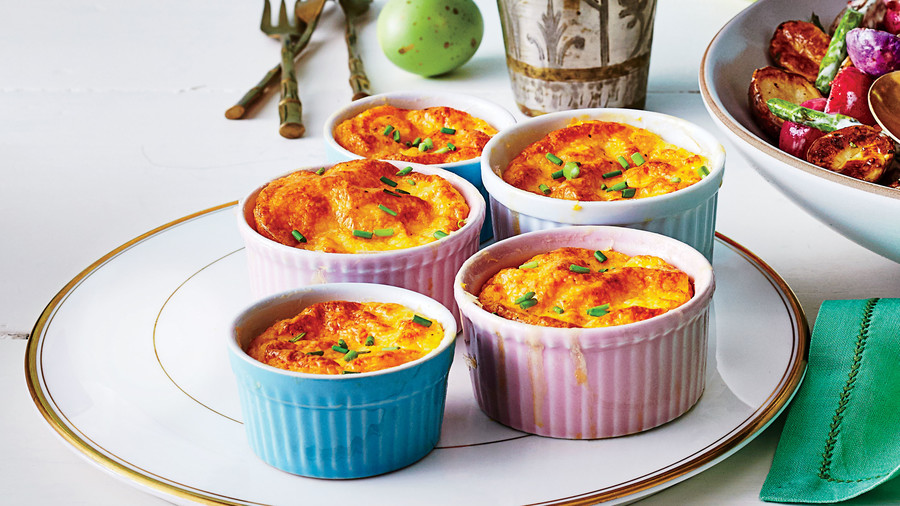 Mini Cheese Grits Casseroles