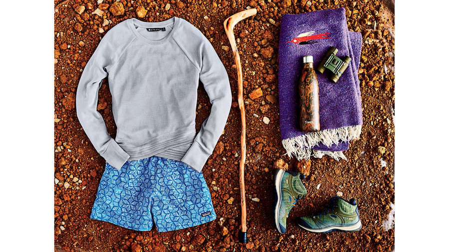 Hiking Fitness Outfit
