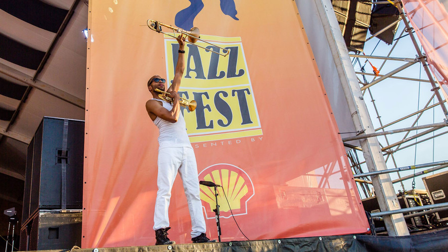 3. New Orleans Jazz & Heritage Festival