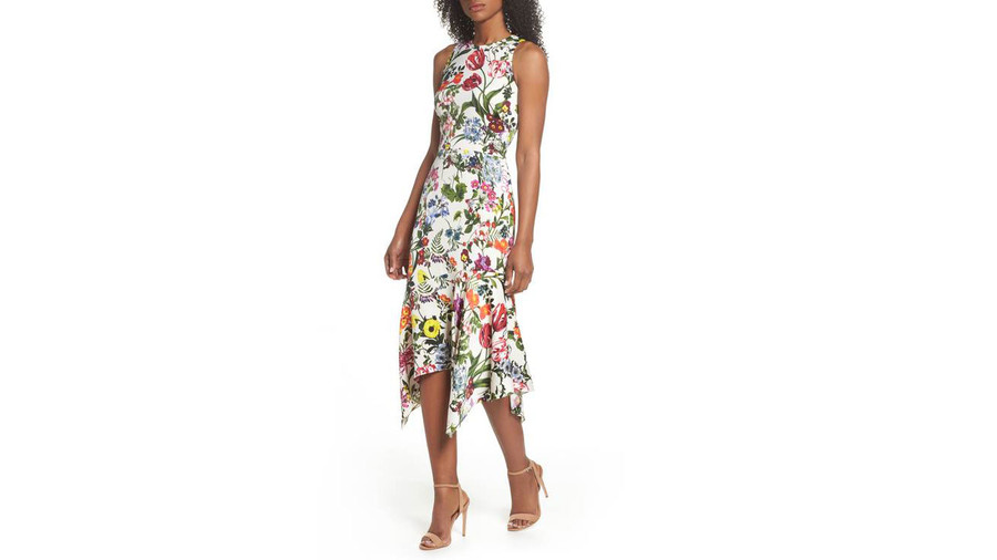 maggy-london-botanical-print-dress
