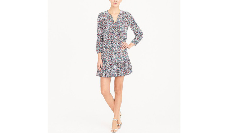 Relaxed Printed Dress