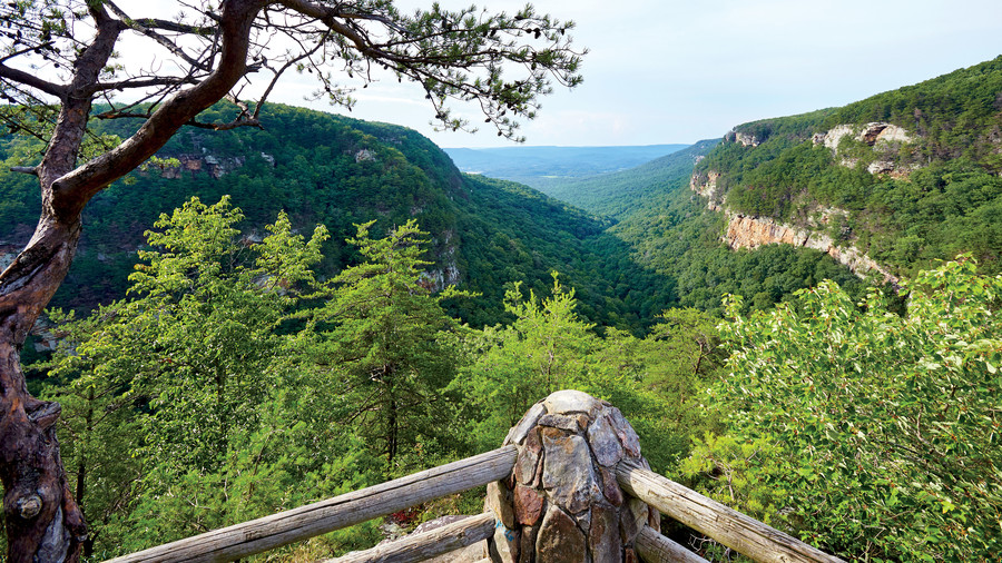 Cloudland Canyon State Park in Rising Fawn, GA