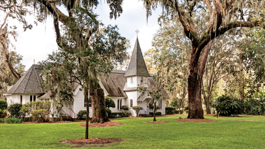 Christ Church, Frederica on St. Simons Island