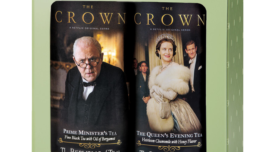 The Republic of Tea, The Crown: Two Tin Gift Set