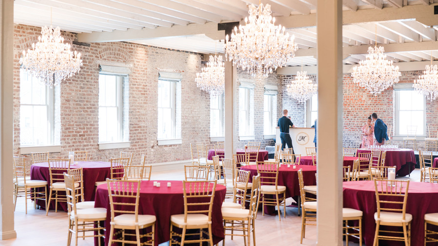 RX_1805_The 12 Best Wedding Venues in Charleston_Merchants Hall