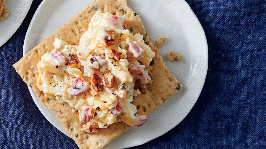 Goat Cheese and Gouda Pimiento Cheese