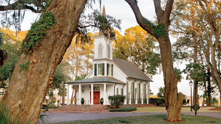 May River Chapel in Palmetto Bluff in Bluffton, South Carolina