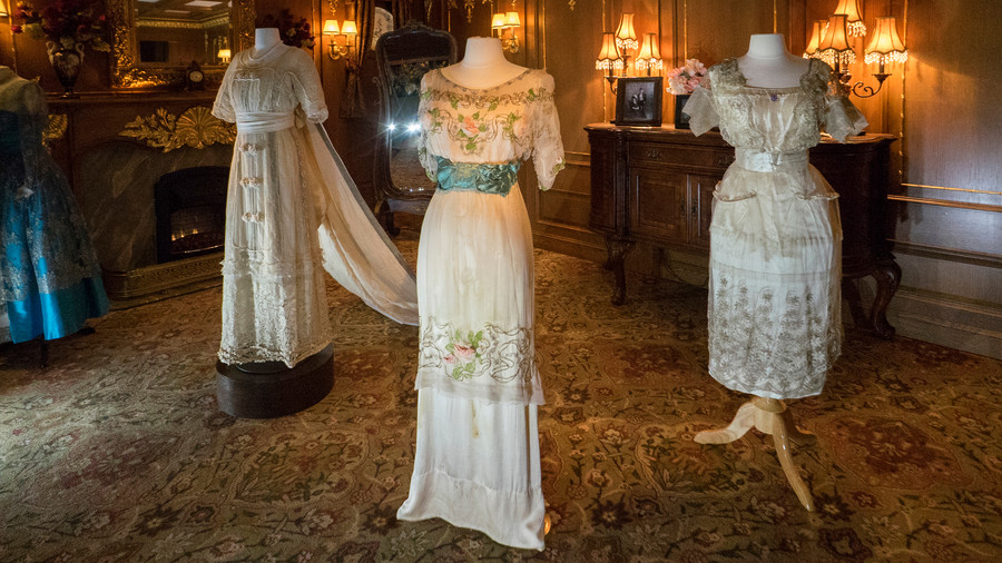 Lady Duff Gordon Evening Dresses at Titanic Pigeon Forge