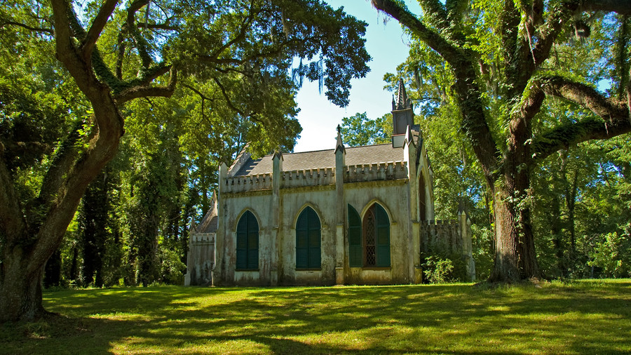 St. Mary's Chapel at Laurel Hill Plantation in Natchez, Mississippi