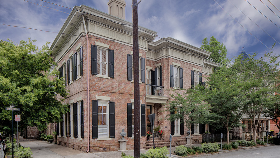 Savannah Italianate House for Sale
