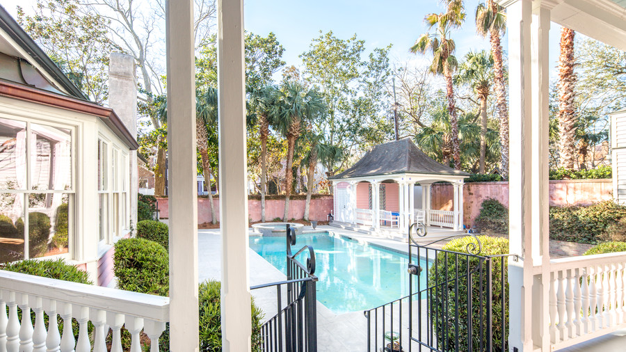 Pink Charleston House for Sale