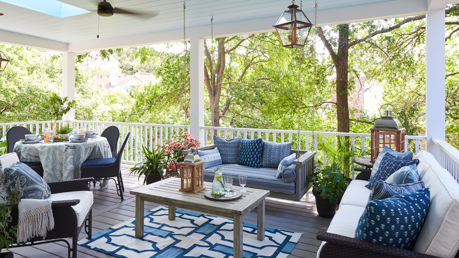 2018 Idea House in Austin, Texas Back Porch