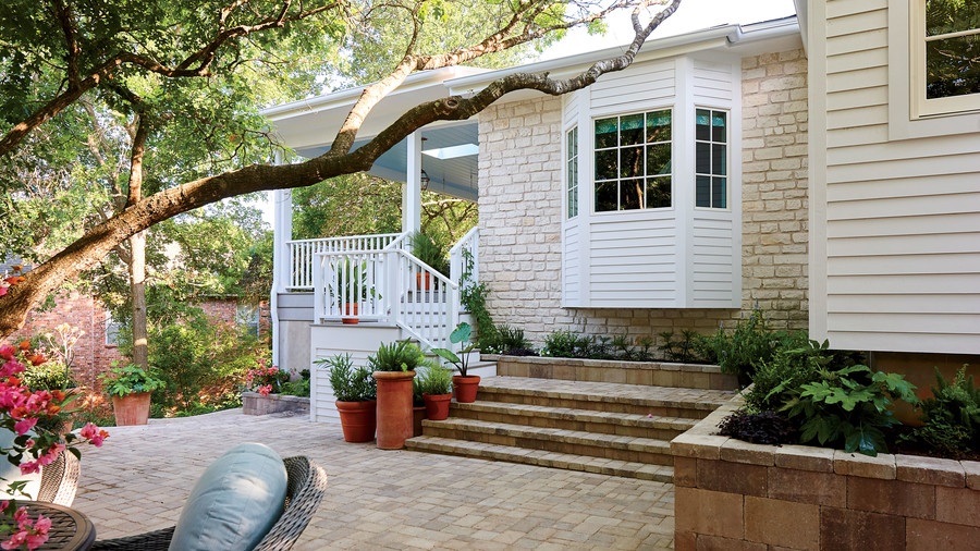 2018 Idea House in Austin, Texas Backyard