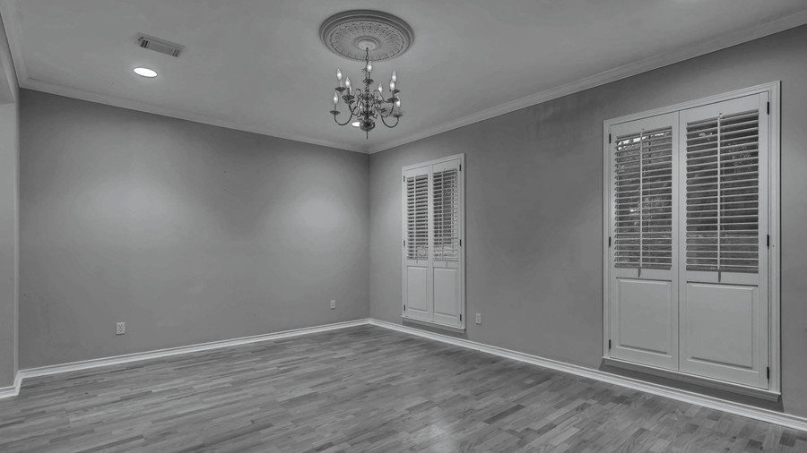 2018 Idea House in Austin, Texas Dining Room Before