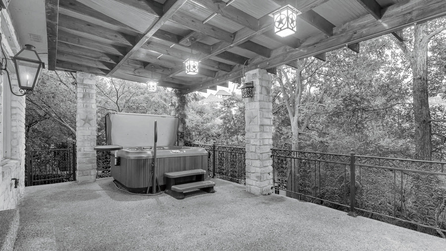 2018 Idea House in Austin, Texas Back Porch before