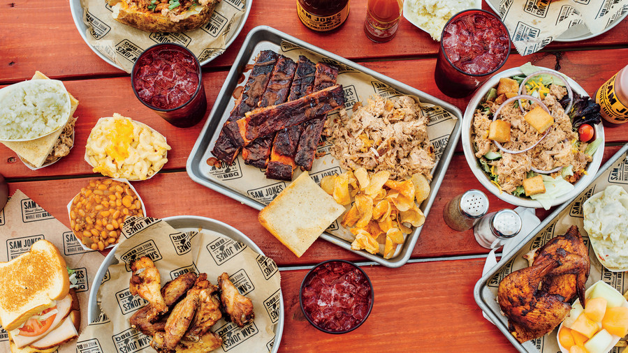 23. Sam Jones Barbecue