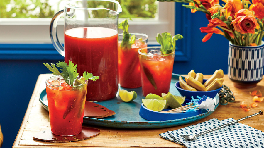 Big Batch Bloody Marys