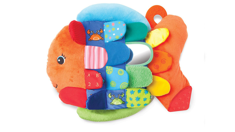 Flip Fish Soft Baby Toy