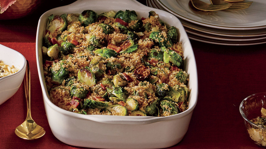 9. Brussels Sprouts with Bacon and Shallots