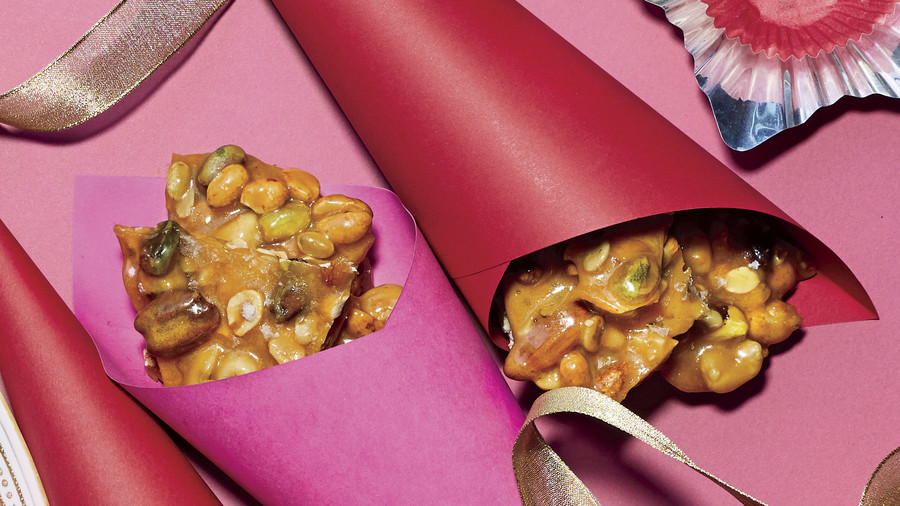 Salty-Sweet Nut Brittle