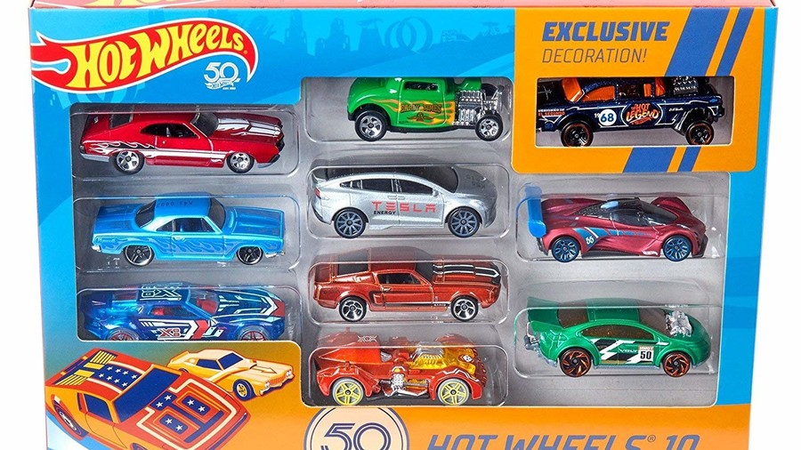 Hot Wheels 50th Anniversary Set