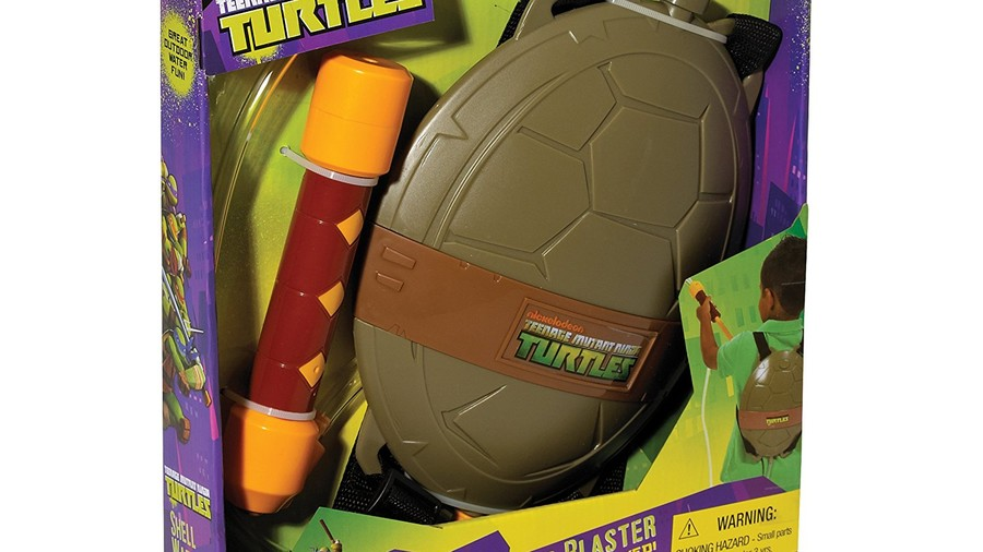 Teenage Mutant Ninja Turtles Shell and Water Blaster