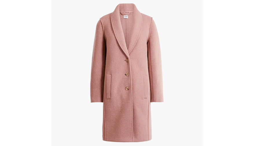 RX1812_12 Vintage-Inspired Picks to Steal The Marvelous Mrs. Maisel's Ladylike Midcentury Style_Boiled Wool Topcoat