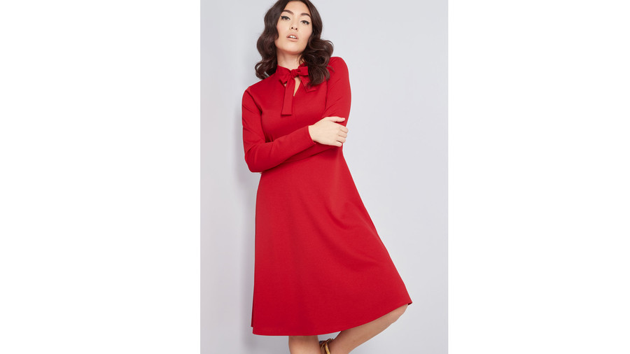 Flaunted Confidence Long Sleeve Dress