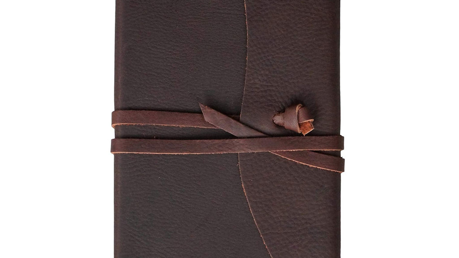 Leather Journal with Tie