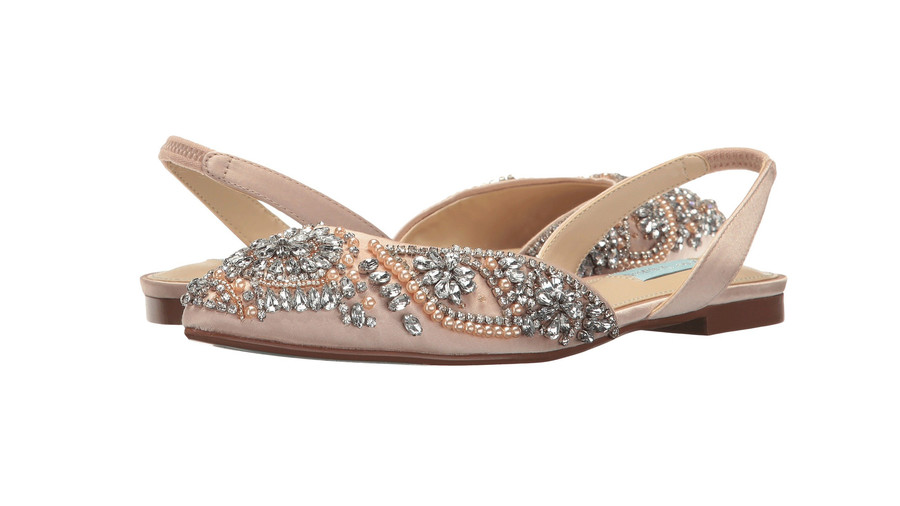 RX_1902 Comfortable Wedding Shoes_Blue by Betsey JohnsonMolly