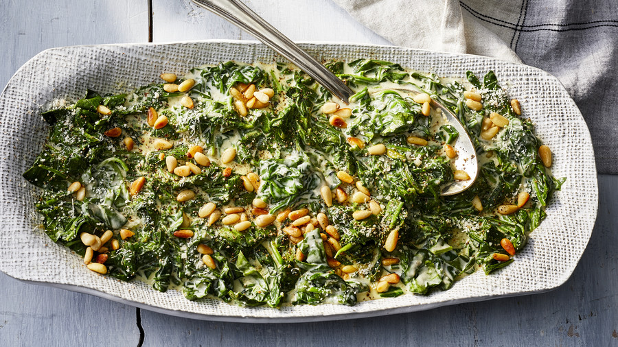 RX_1910_Vegetarian Thanksgiving Recipes_Creamed Spinach