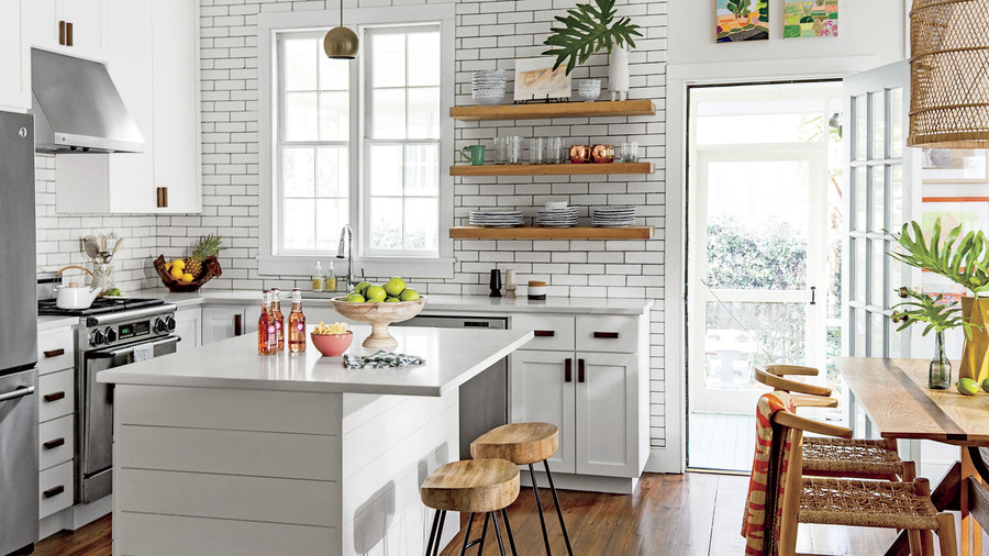 L-Shaped & The Top 5 Kitchen Layouts