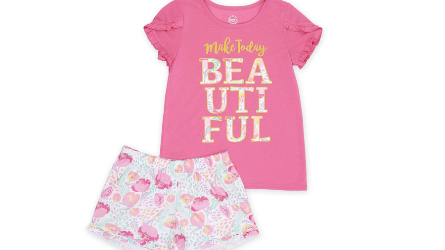 RX_1905 Birthday Gifts for Kids_Pajama Short Set