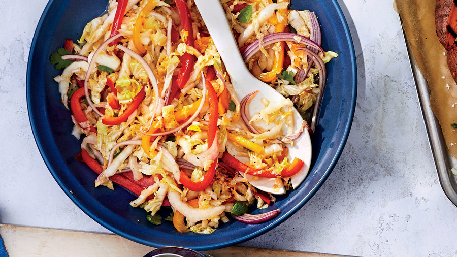 Spicy Pepper Jelly Coleslaw