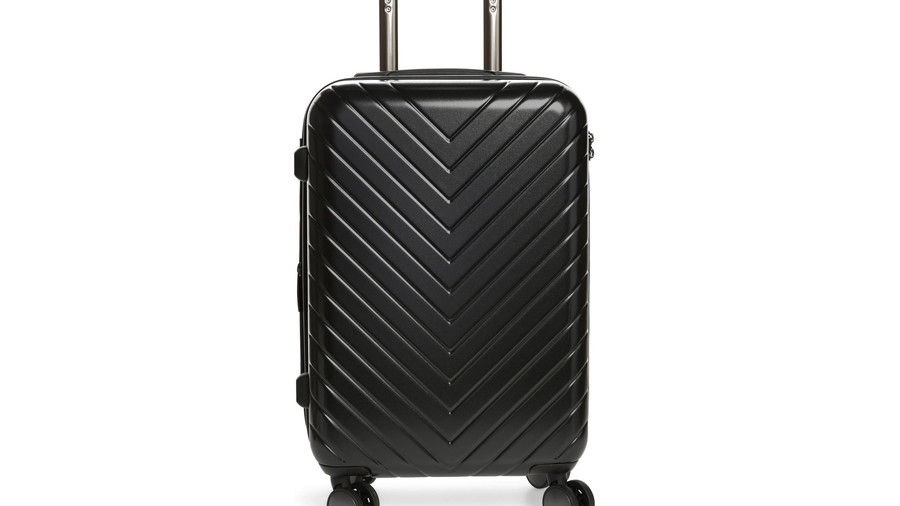 Chevron 18-Inch Spinner Carry-On