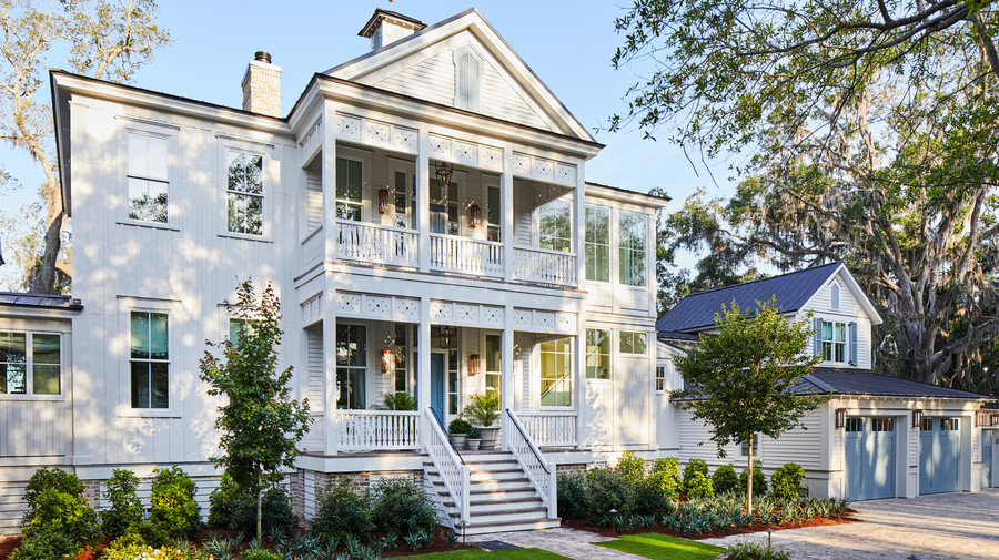 Front Exterior Resource Guide for 2019 Idea House in Crane Island, Florida