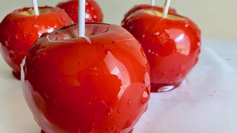 Homemade Candy Apple