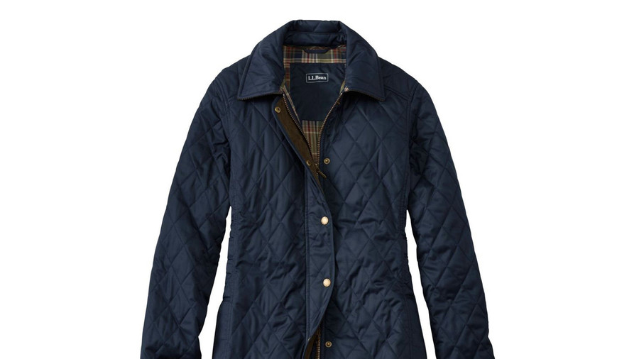 L.L. Bean Quilted Riding Jacket