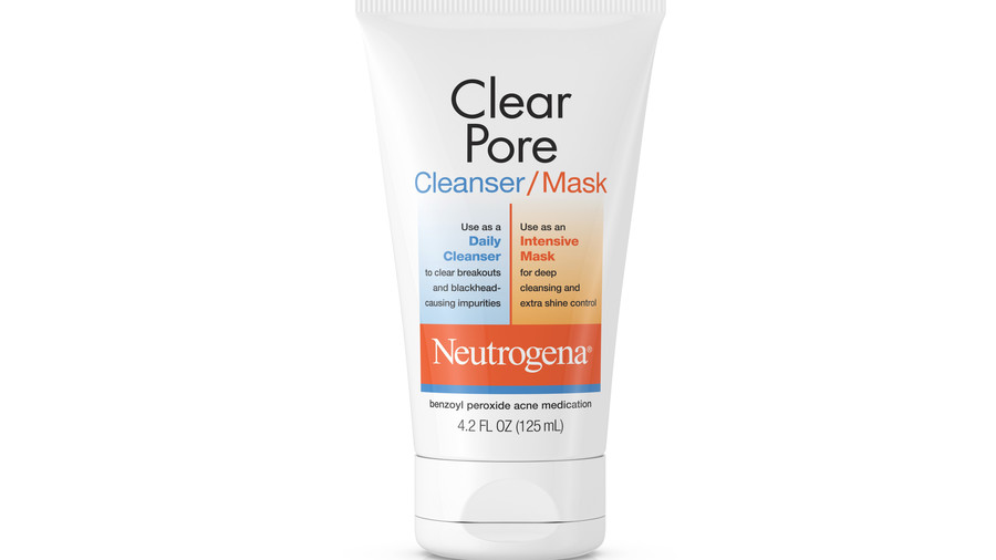 Neutrogena Clear Pore Facial Cleanser and Face Mask